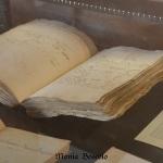 I quaderni originali di Diotaiuti conservati presso la Biblioteca Comunale di Imola. / Diotaiuti's original book of accounts, kept by the Library of Imola.